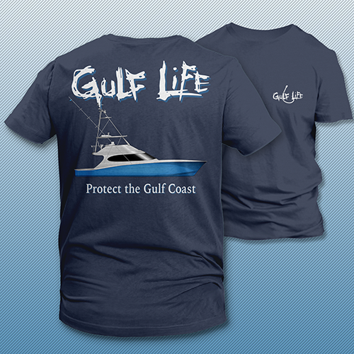 Gulf Life - Protect The Gulf Coast - Charter Boat